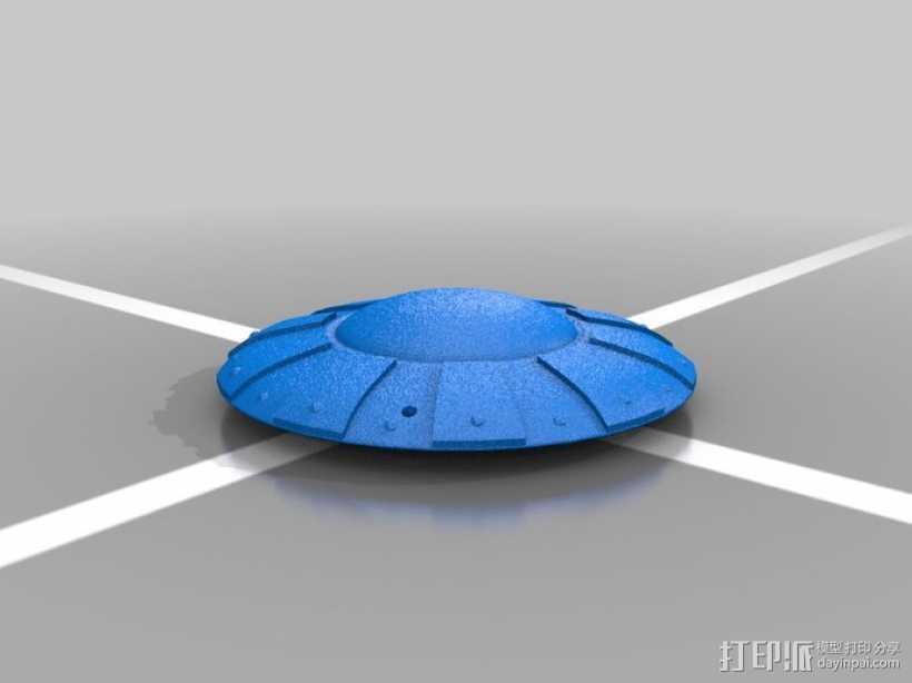 可悬挂式飞碟 3D打印模型渲染图