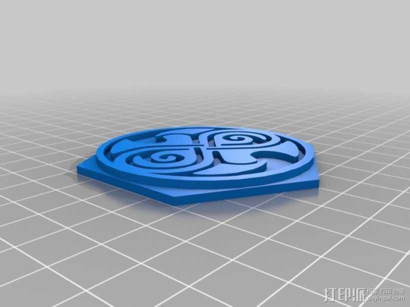 时间领主饼干切割器 3D打印模型渲染图