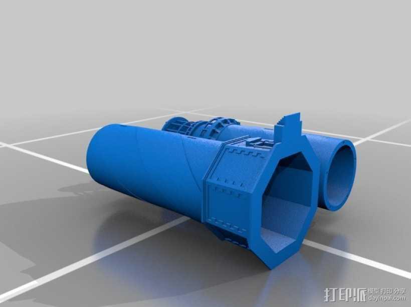 海特瑞斯角灯塔 3D打印模型渲染图