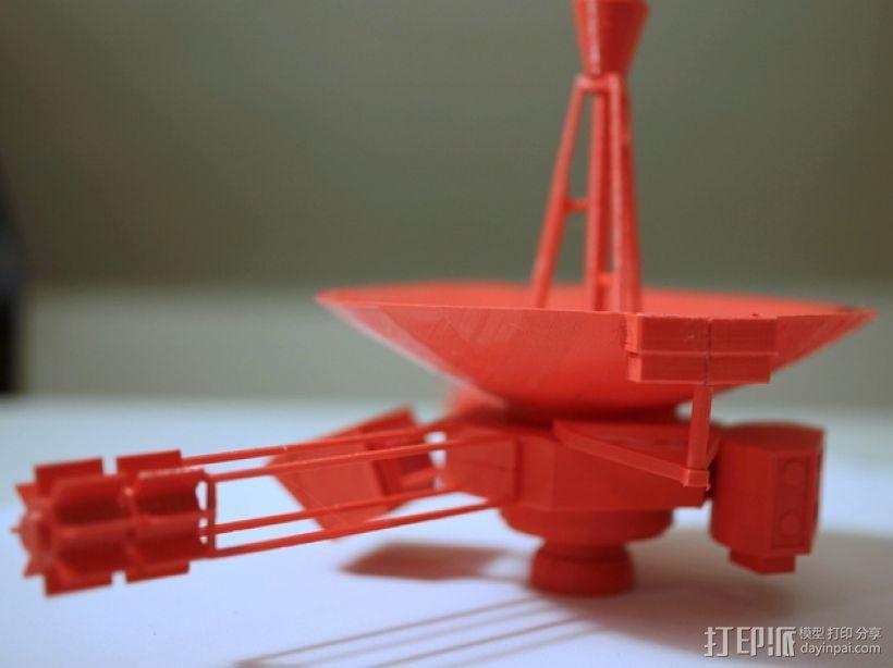 先锋十号太空飞行器 3D打印模型渲染图