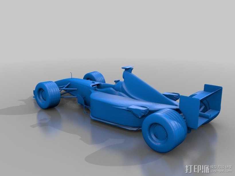 法拉利FI赛车 3D打印模型渲染图