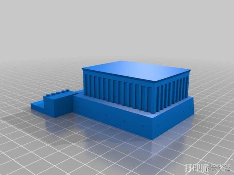 亚狄陵 3D打印模型渲染图