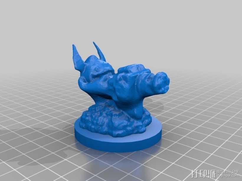 Trigger Happy游戏造型 3D打印模型渲染图