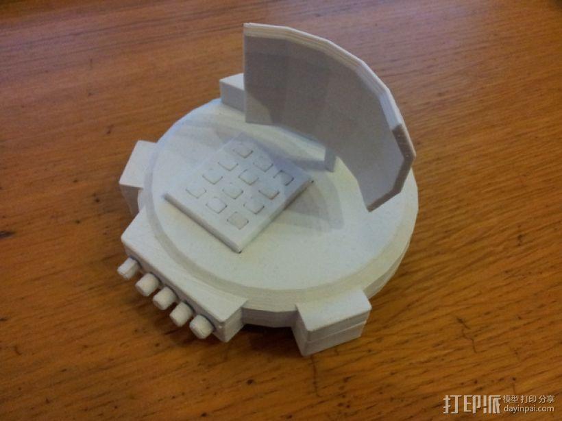 隐形小子 3D打印模型渲染图