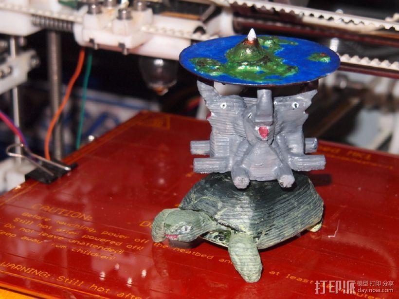 蝶形世界 游戏造型 3D打印模型渲染图
