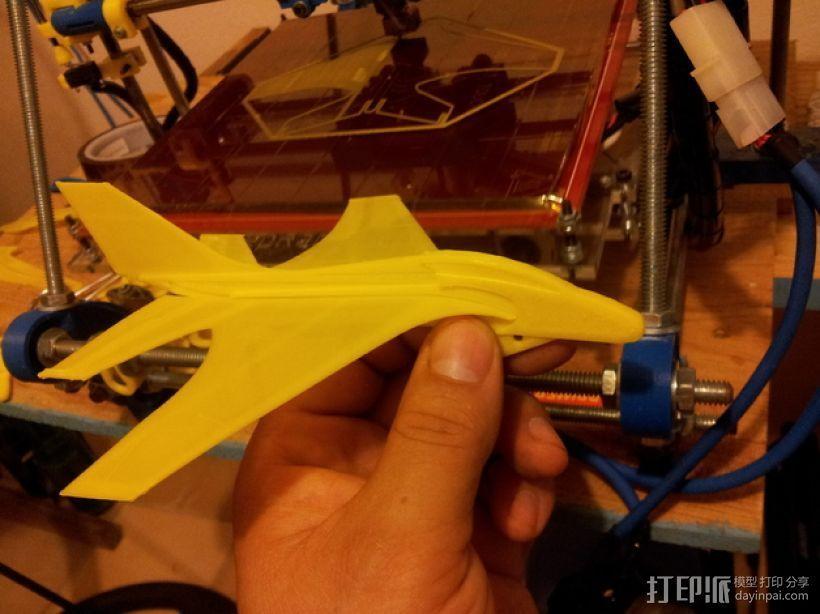 喷射机  3D打印模型渲染图
