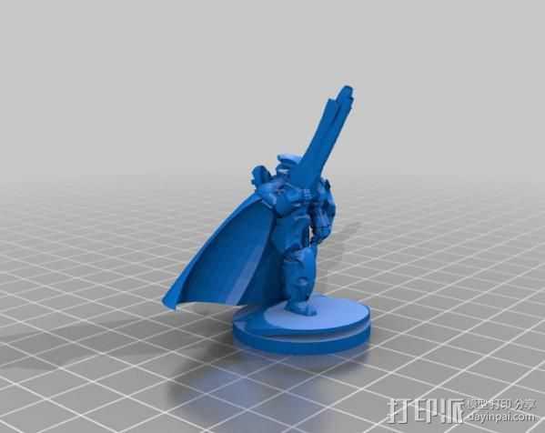 震击部队克隆兵模型 3D打印模型渲染图