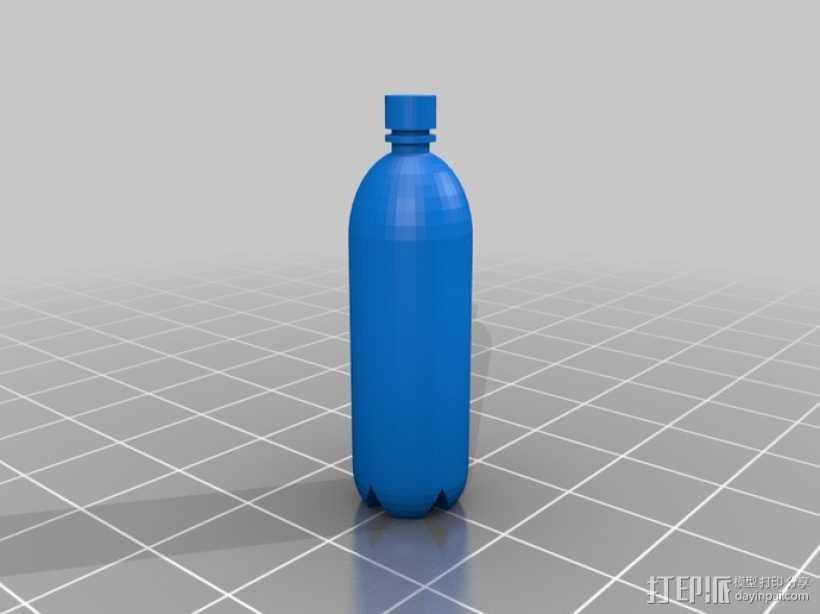 塑料瓶 3D打印模型渲染图