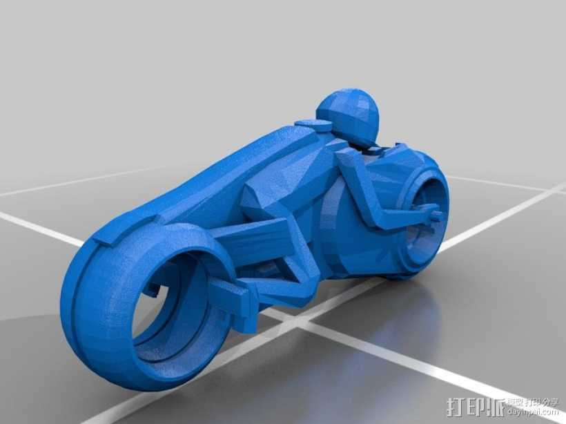 机车 摩托车 3D打印模型渲染图