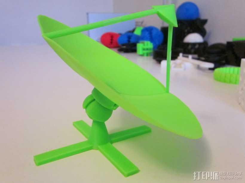 射电望远镜 3D打印模型渲染图