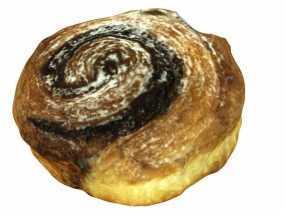 卡布奇诺咖啡卷面包