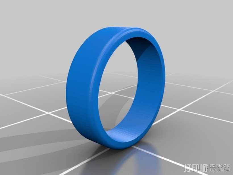 无轮毂的轮子 3D打印模型渲染图