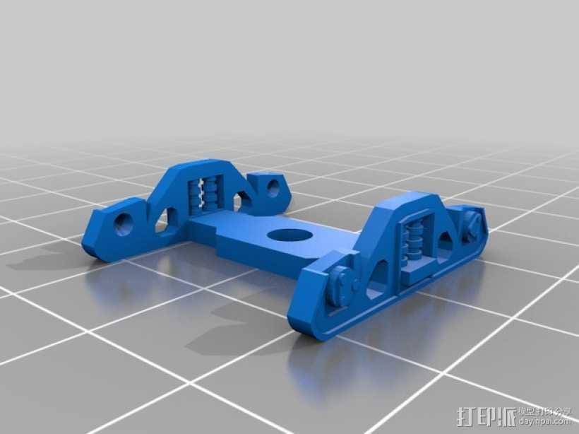 卡车车轮 3D打印模型渲染图
