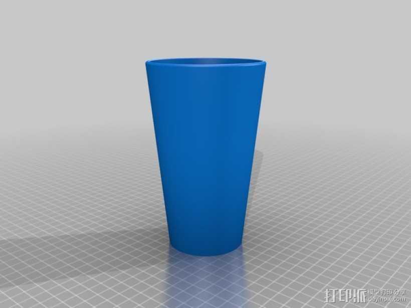 杯子 水桶 3D打印模型渲染图