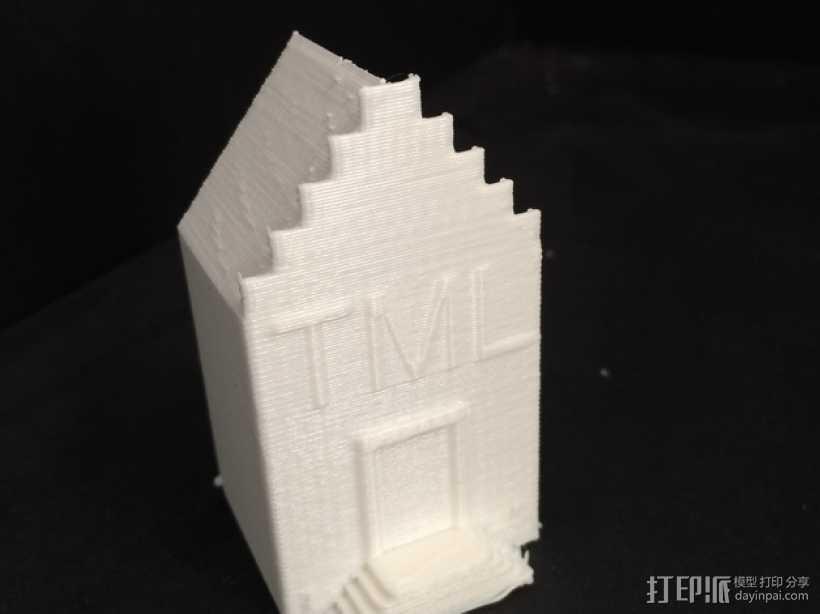 研究所建筑模型 3D打印模型渲染图