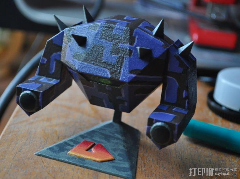 战锤 巨人战士 3D打印模型渲染图