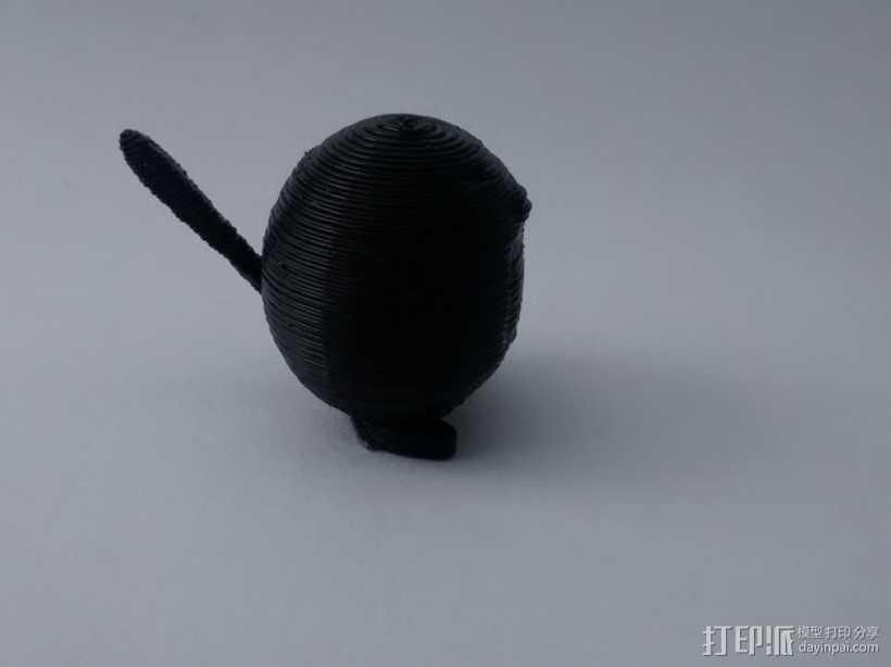 蚊香蝌蚪 3D打印模型渲染图