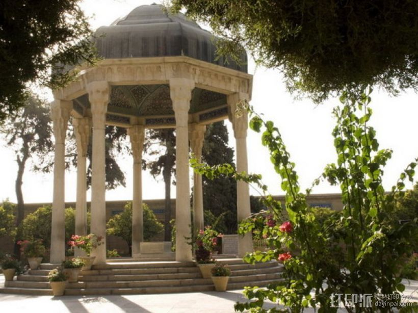 Hafez哈菲兹之墓 3D打印模型渲染图