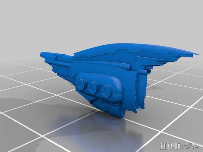 EVE Online星战前夜飞机模型 3D打印模型渲染图