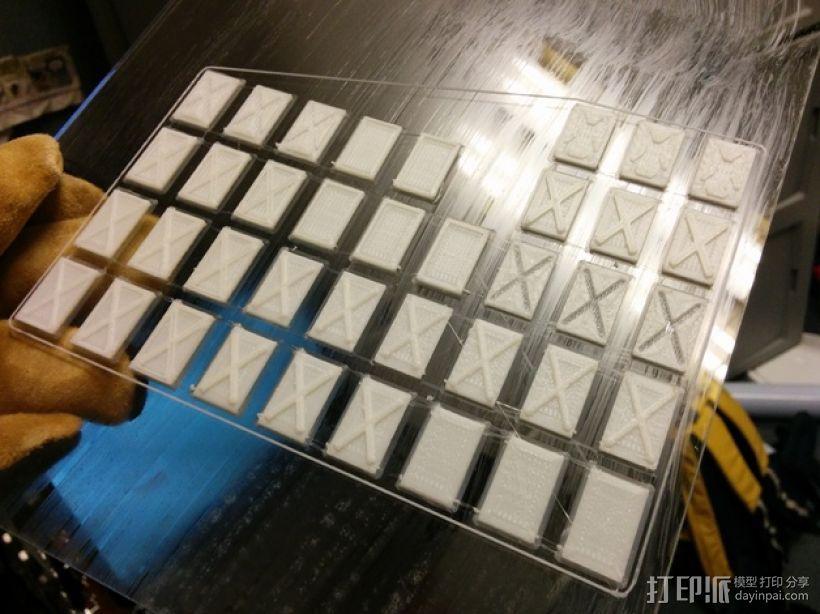 塑料仪表板 3D打印模型渲染图