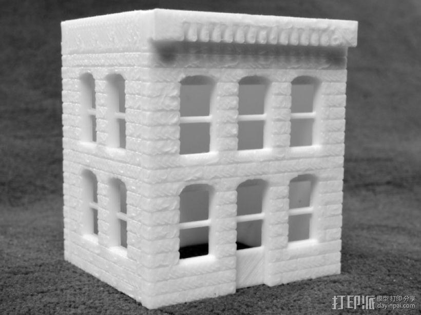 模组化的房屋 3D打印模型渲染图