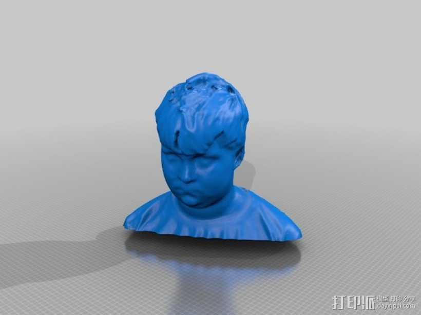 finlayh写实人物模型 3D打印模型渲染图
