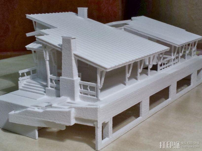住宅房屋模型 3D打印模型渲染图