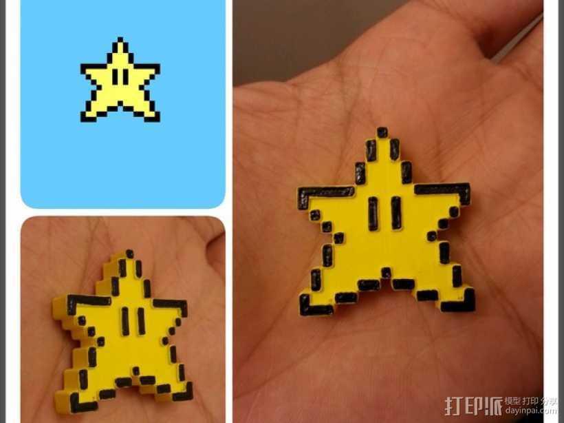 像素星 3D打印模型渲染图