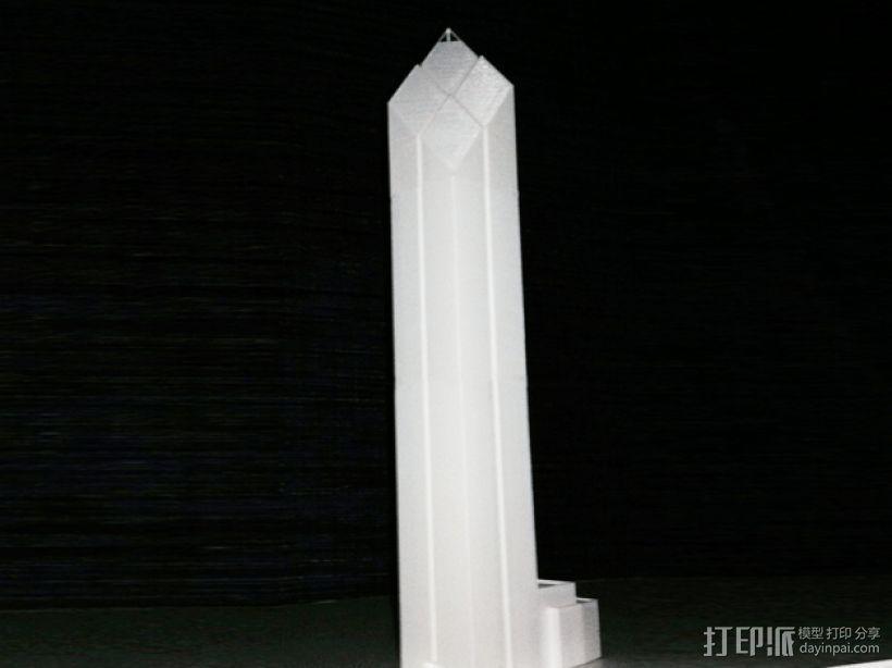 世贸中心大楼 3D打印模型渲染图