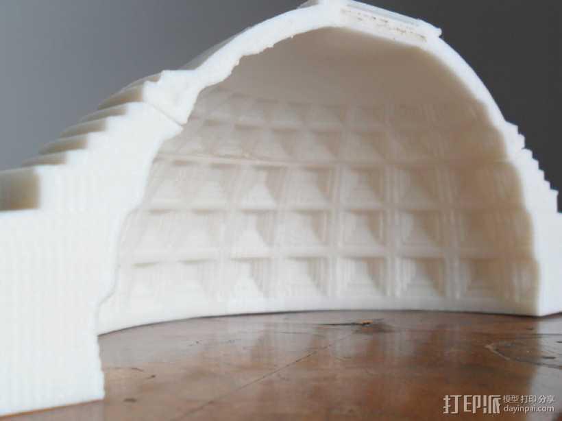 罗马万神庙 3D打印模型渲染图
