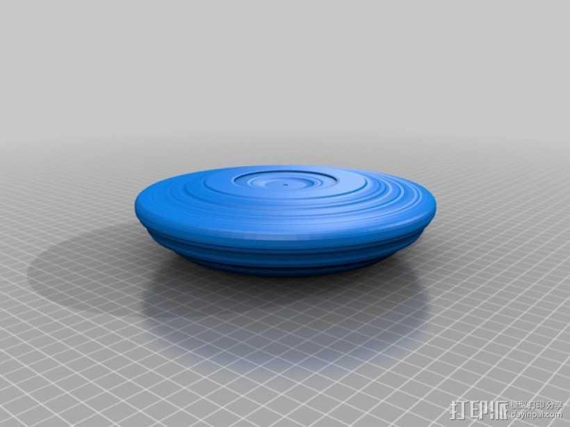 飞碟 飞盘 3D打印模型渲染图
