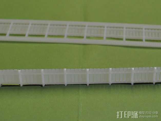 铁轨护栏 3D打印模型渲染图