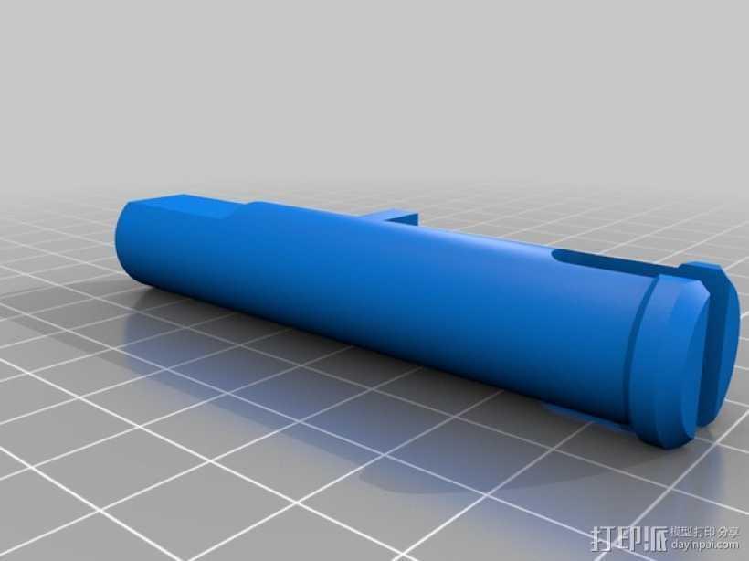 疯猫机器人手臂部件 3D打印模型渲染图