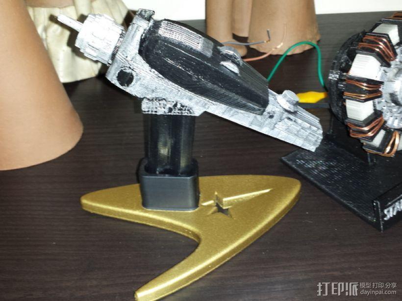 移相器支架 3D打印模型渲染图