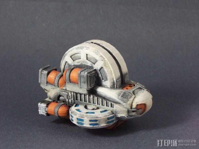 LightBringer 光明使者号飞船 3D打印模型渲染图