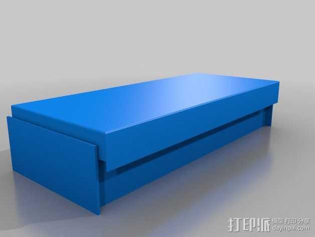 床 3D打印模型渲染图
