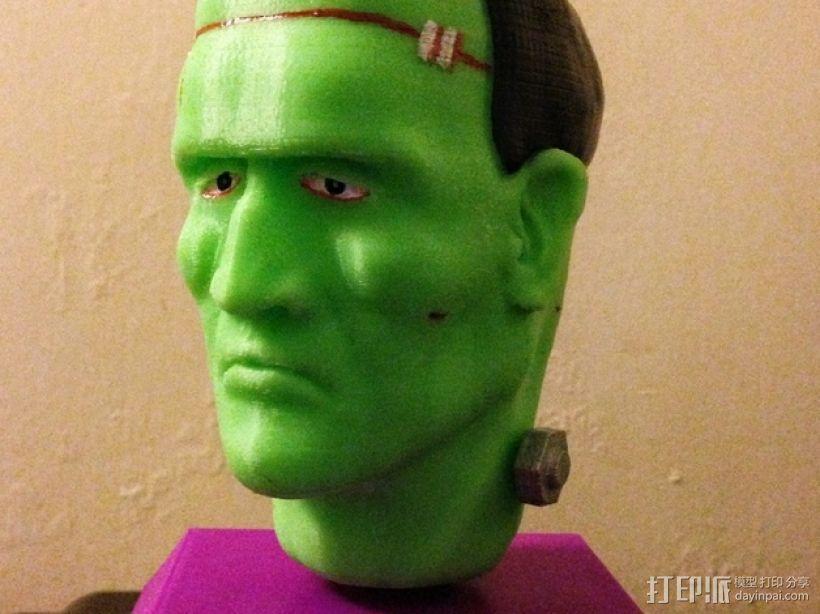 Frankie Stein游戏造型 3D打印模型渲染图