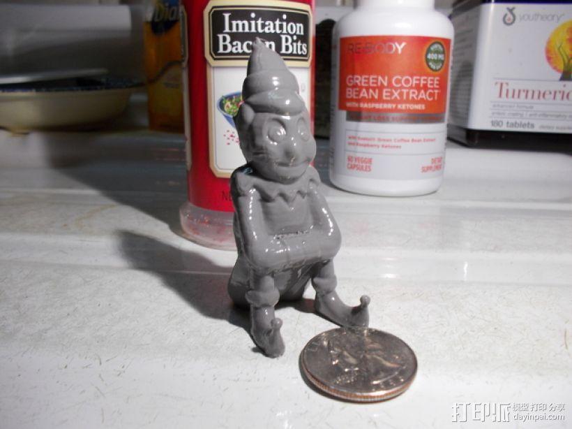 Elf小精灵 3D打印模型渲染图