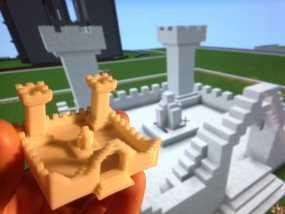 我的世界 城堡