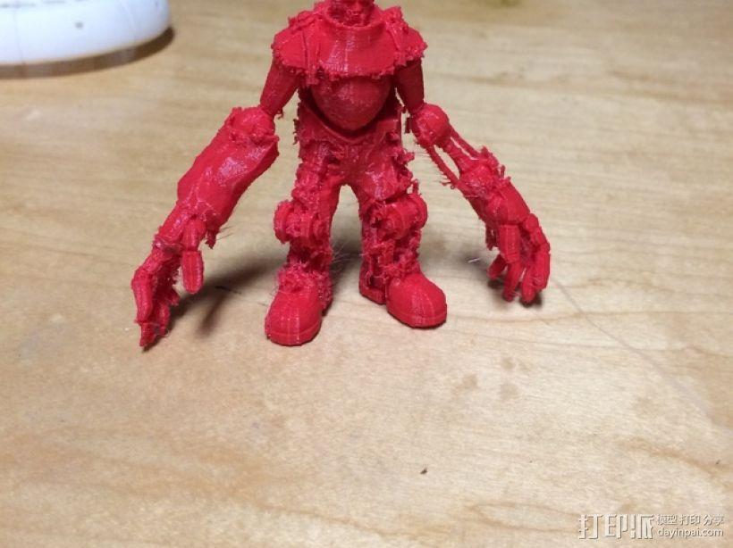 巨臂巧匠 生化奇兵 3D打印模型渲染图