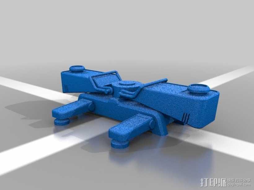 军团要塞 传送点  3D打印模型渲染图
