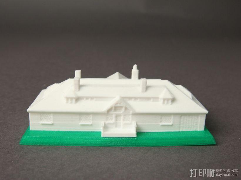 Innis Arden小屋 3D打印模型渲染图