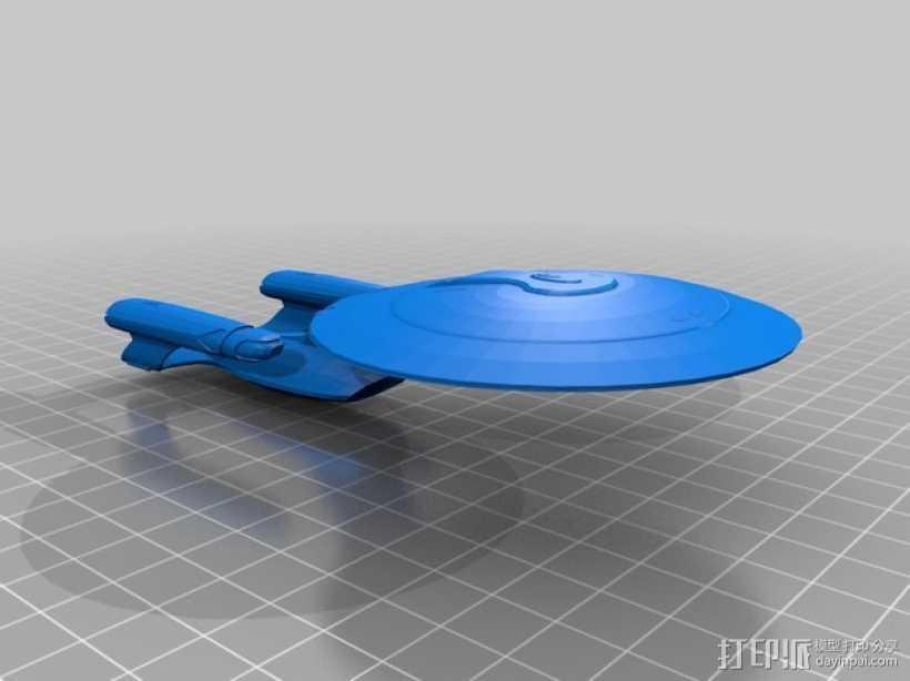 银河级星舰 3D打印模型渲染图