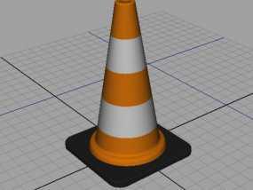 锥形交通路标