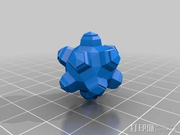 滚雷 3D打印模型渲染图