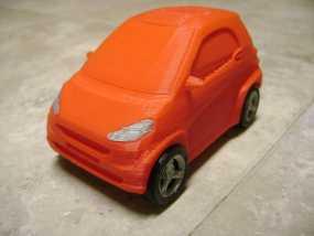 奔驰Smart fortwo汽车模型