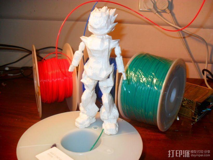Bobu-San日本动漫造型 3D打印模型渲染图