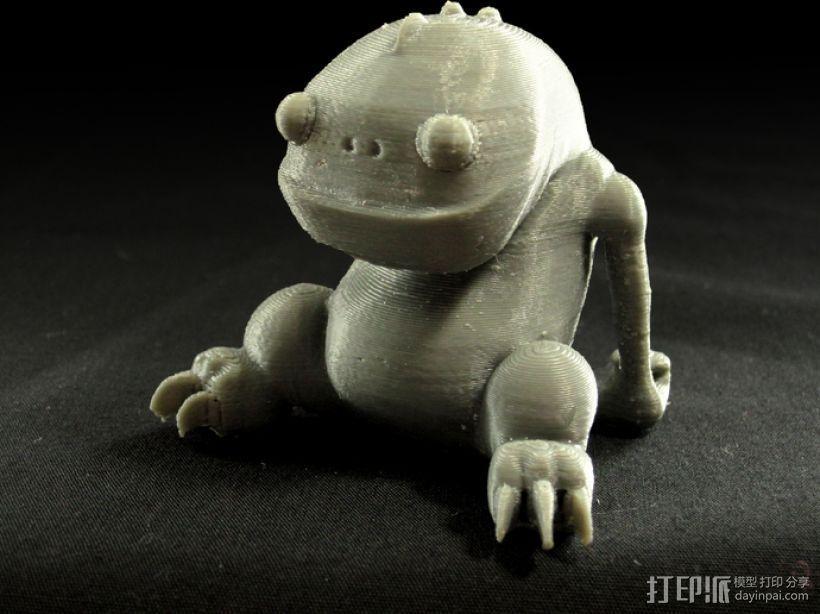 小青蛙blinky 3D打印模型渲染图