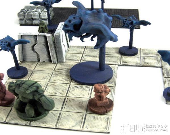 蝙蝠魔鬼 3D打印模型渲染图