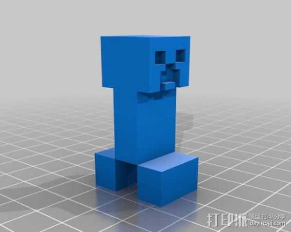 爬行者 3D打印模型渲染图